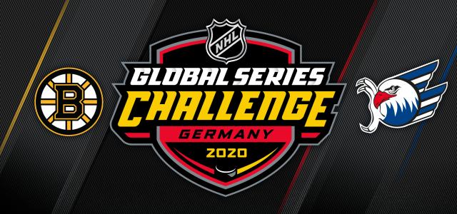 NHL-Flair: Adler testen gegen die Boston Bruins
