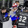 Mit 600 Fans im Rücken angereist, aber trotzdem verloren – Schwenningens Coach Thompson ist enttäuscht von seinem Team