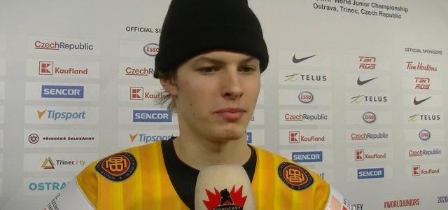 1:4 gegen Team Canada: Das sagen Jan Nijenhuis und Lukas Reichel zum Spiel