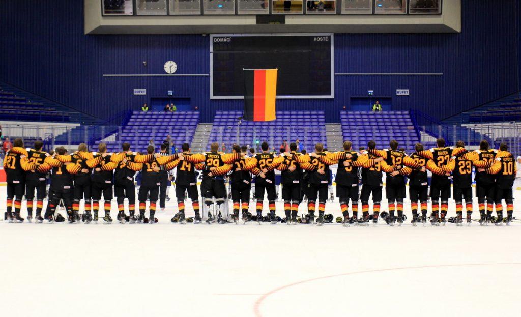 DEB U20 siegte im letzten Relegationsspiel - © by Eh.-Mag. (DR)