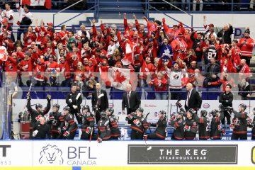 Kanadische Fans feiern Finaleinzug - © by Eh.-Mag. (DR)