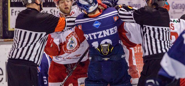 Huskies verlieren gegen EV Landshut 2:3 nach Verlängerung