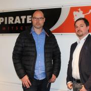 Mathias Eisenblätter wird dritter Eispiraten-Gesellschafter