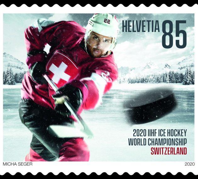 Ab die Post mit der Sonderbriefmarke zur 2020 IIHF Eishockey-WM!