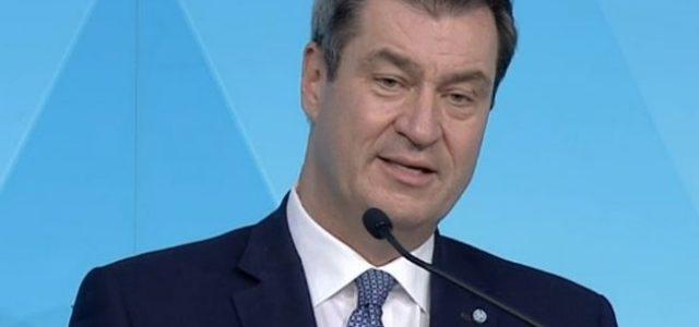 """Bayerns Ministerpräsident Söder zum Verbot von Großveranstaltungen bis zum 31.8.: """"Wir werden morgen auf jeden Fall eine Verlängerung beschließen"""""""