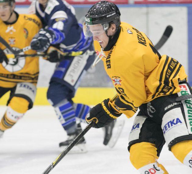 Marius Keller geht auch weiterhin für den EVF auf das Eis