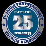 Eisbären Berlin und GASAG feiern 25-jähriges Jubiläum