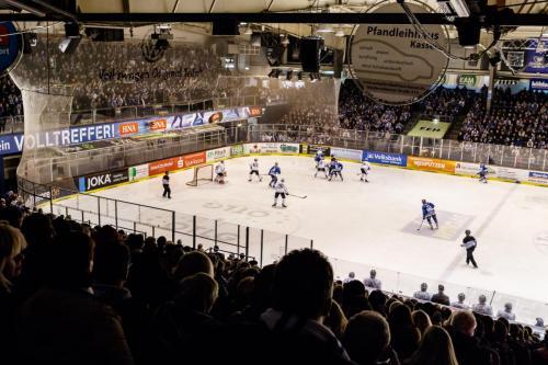 DEL2 VF4 / Kassel Huskies - Löwen Frankfurt
