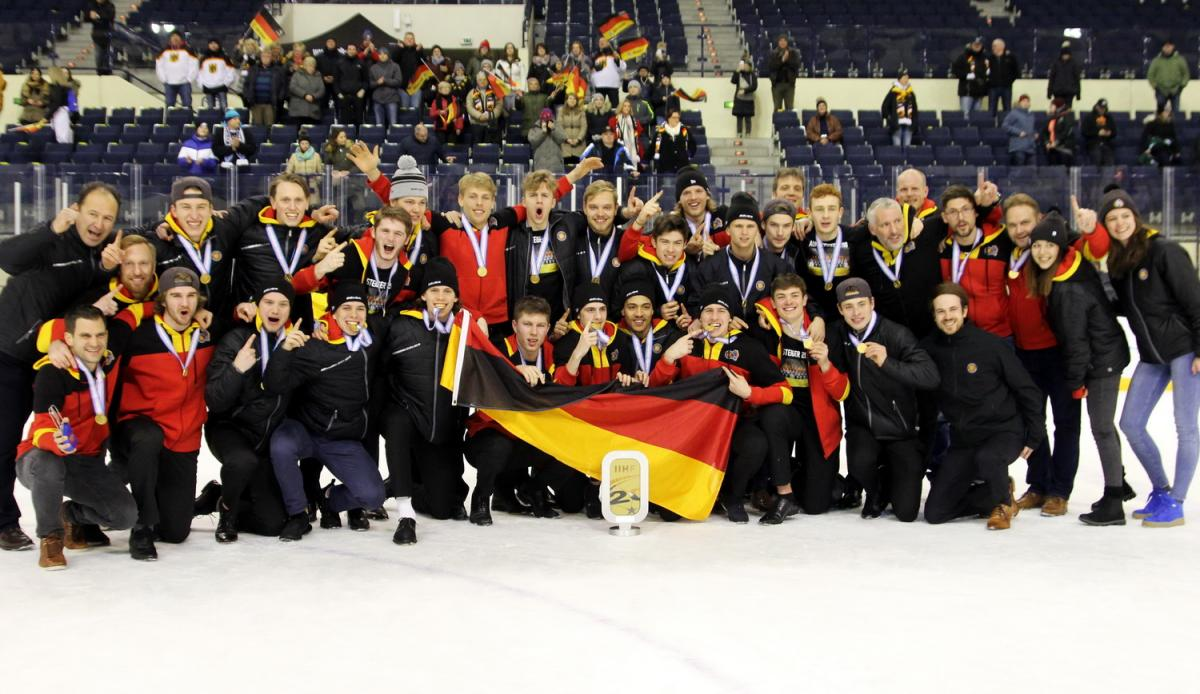 Deutschland gewinnt U20 WM Div. IA in Füssen