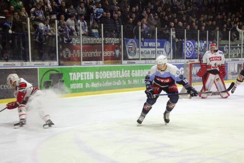 Eishockey Oberliga Süd Weiden gg Memmingen