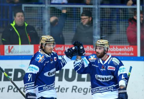 Iserlohn Roosters - Schwenninger Wild Wings (17.01.2020)