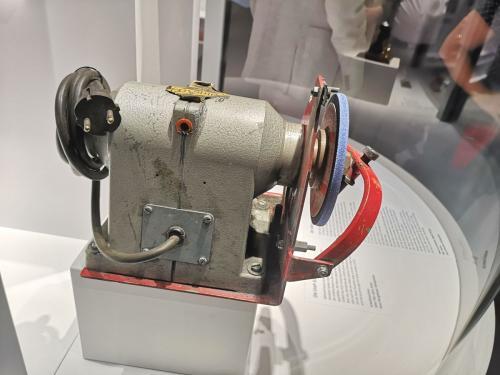 Schleifmaschine - © by Eh.-Mag. (MK)